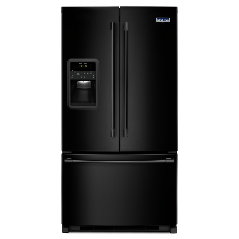 Maytag® 33- Inch Wide French Door Refrigerator with Beverage Chiller™ Compartment - 22 Cu. Ft. MFI2269FRZ