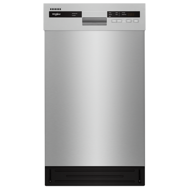 Small-Space Compact Dishwasher with Stainless Steel Tub WDF518SAHB