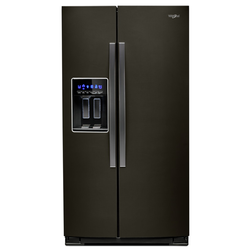 36-inch Wide Counter Depth Side-by-Side Refrigerator - 21 cu. ft. WRS571CIHB