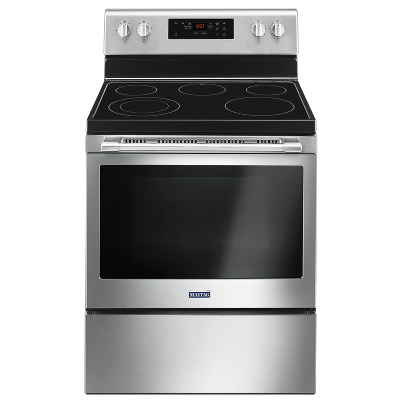 30-Inch Wide Electric Range With Shatter-Resistant Cooktop - 5.3 Cu. Ft. YMER6600FW