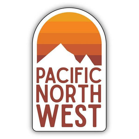 Pacific Northwest Sunrise Sticker