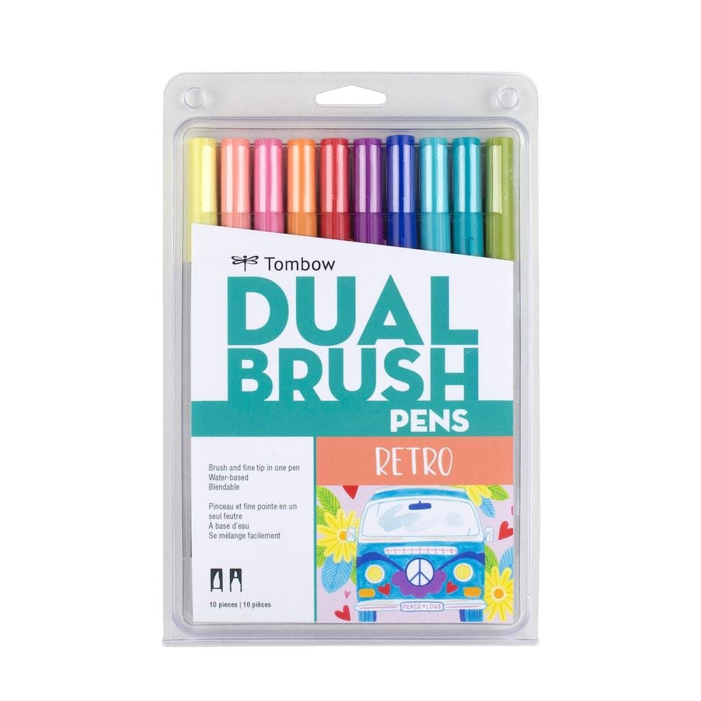 Dual Brush Pens Retro Palette