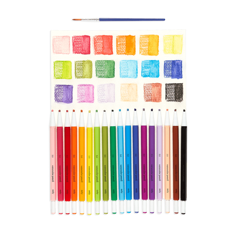 Chroma Blends Mechanical Watercolor Pencils - Set of 18