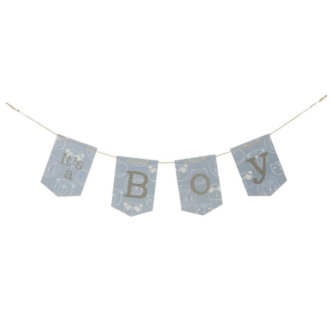 """It's a Boy"" Hanging Banner"