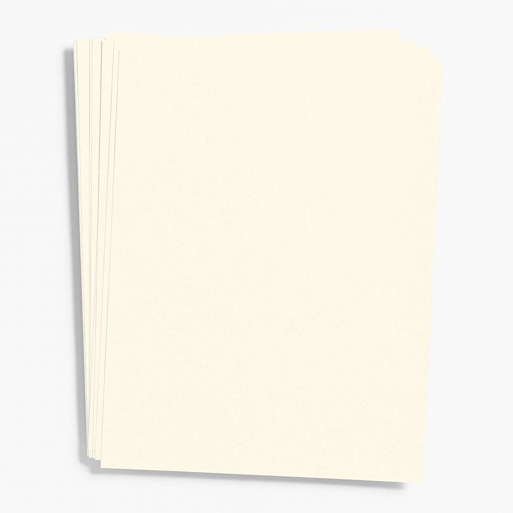 "Luxe White Paper 8.5"" x 11"" (Cover Weight)"