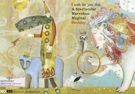 Magical Marvelous Birthday Card
