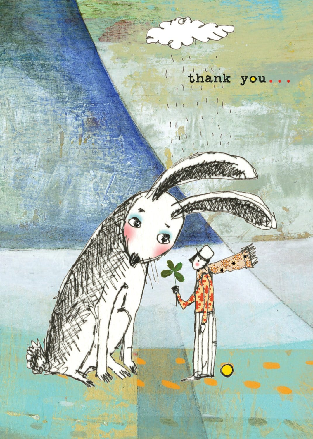 Rabbit's Thank You Card