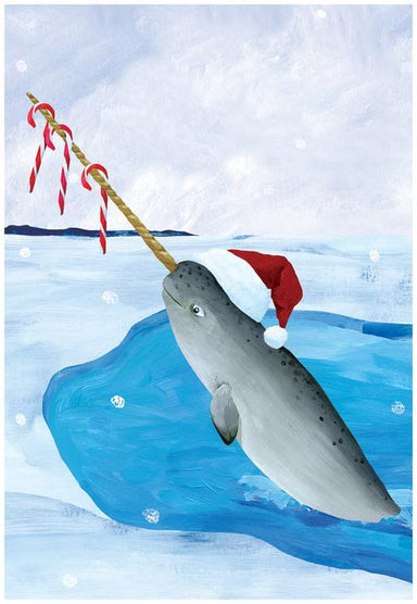 Mr. Narwhal Boxed Holiday Cards