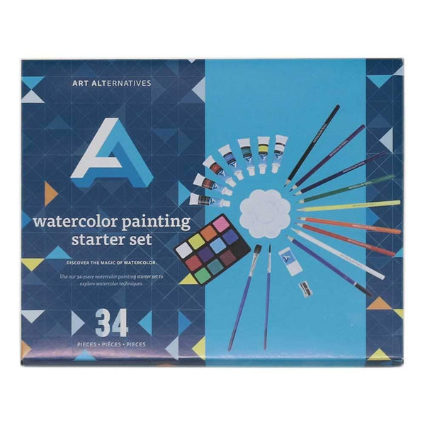 Watercolor Painting Starter Set
