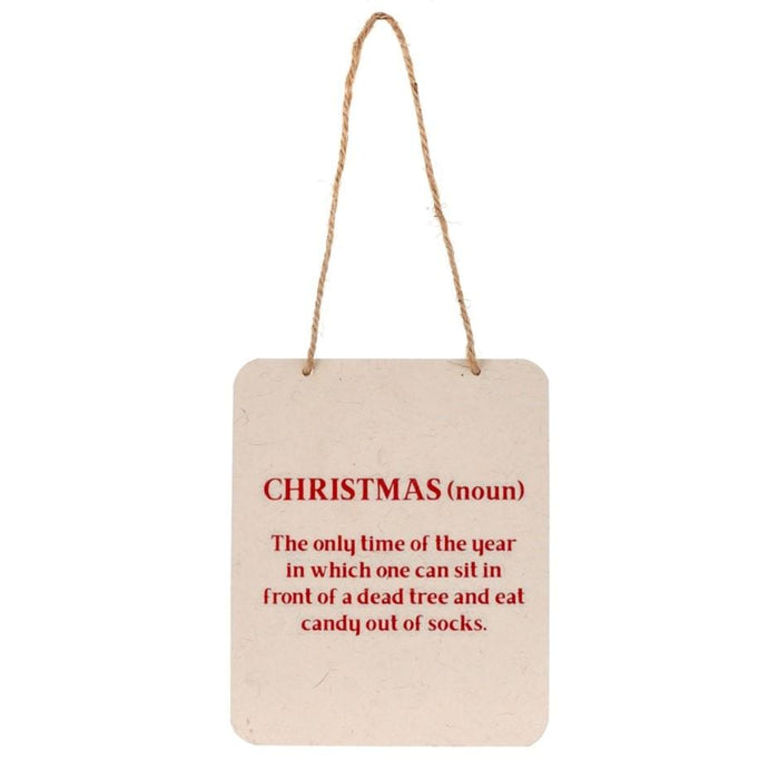 Christmas Meaning Sign