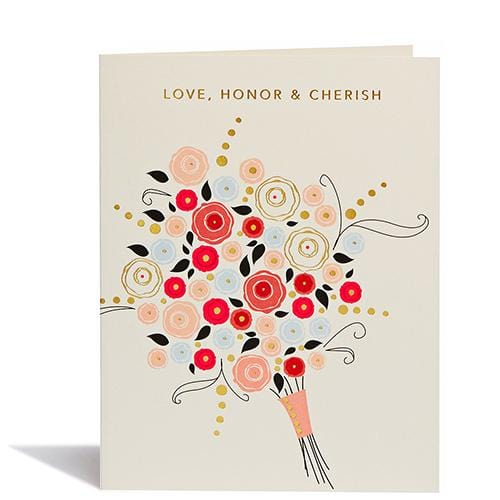 Love, Honor, and Cherish Card