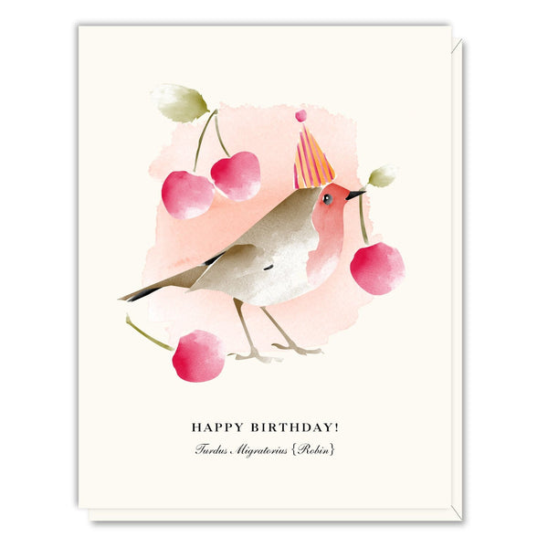 Robin Birthday Card