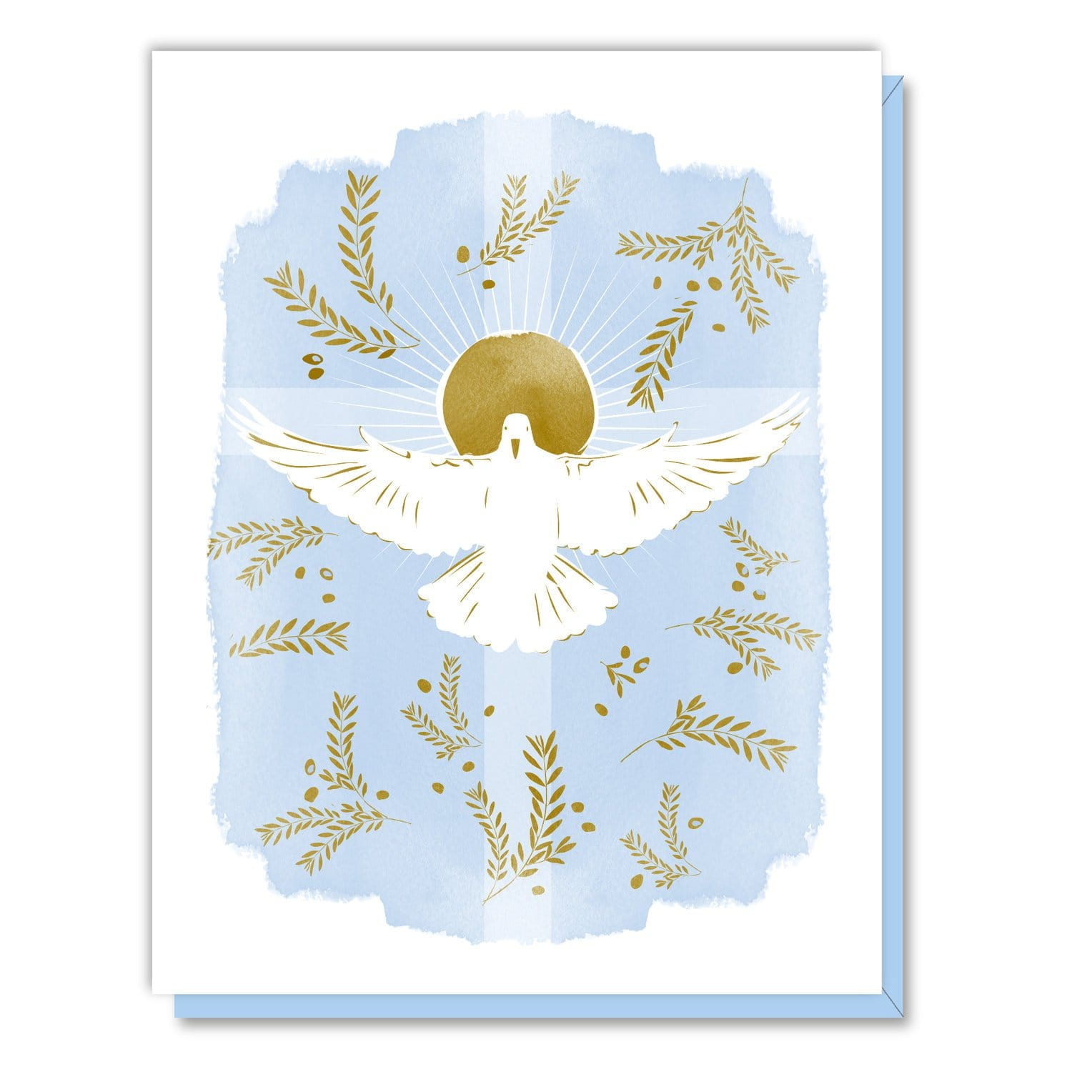 Dove and Cross Card