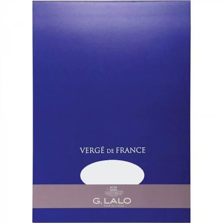 G. Lalo Verge de France A4 (8.27 X 11.69) Tablet - White