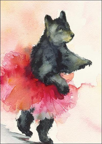 Dancer in Pink Bear