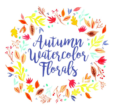Fall Watercolor Florals Workshop 9/20/19