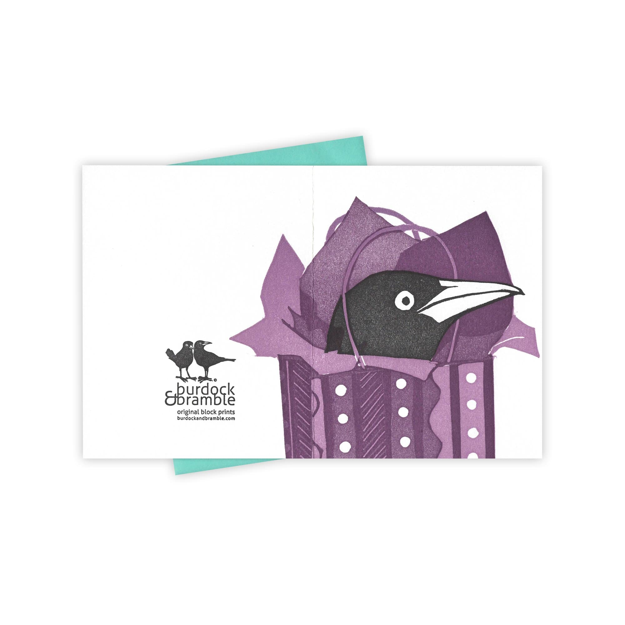 In the Bag Grackle Card