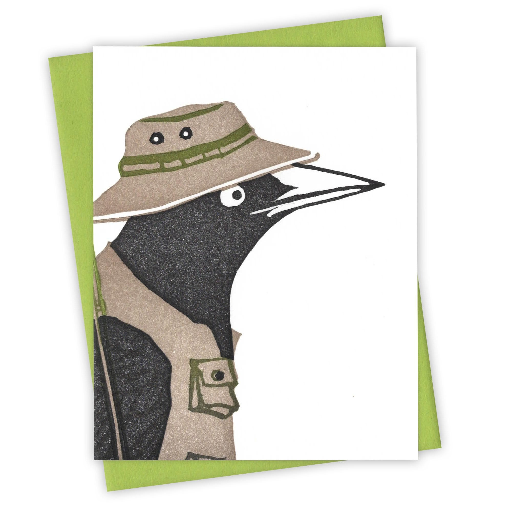 Tackle Box Grackle Card