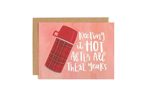 Keeping It Hot Thermos Card