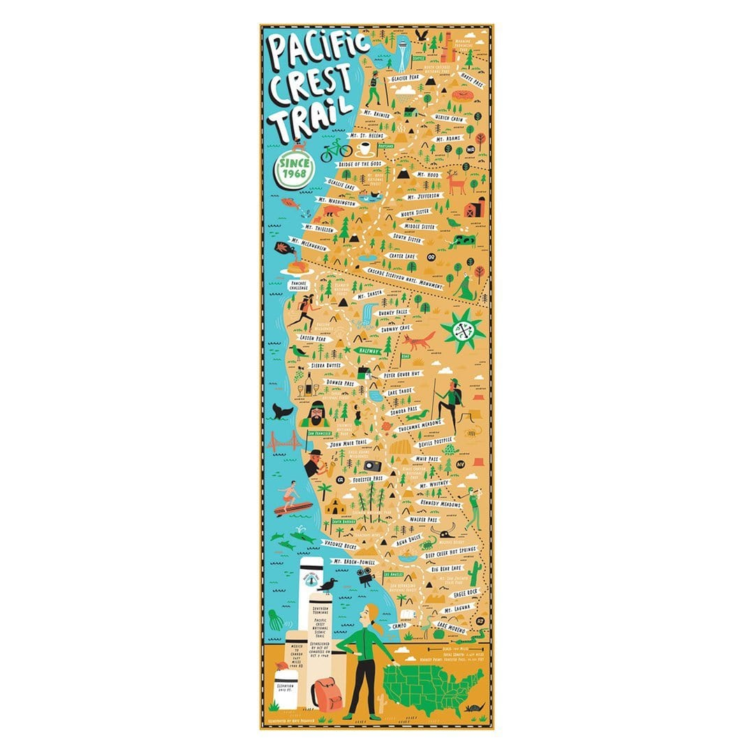 Pacific Crest Trail 750 Piece Puzzle