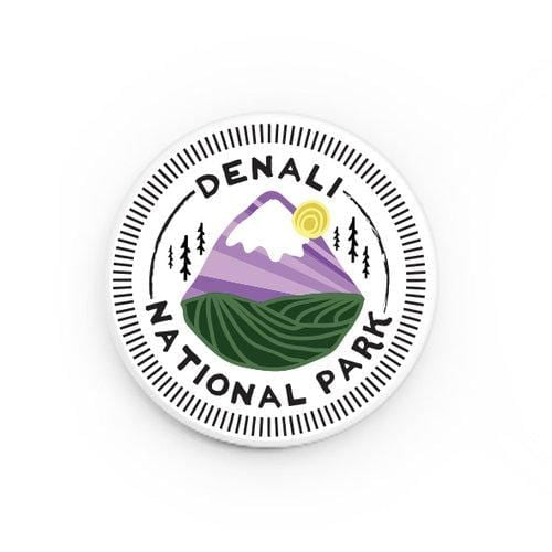 Denali National Park Button