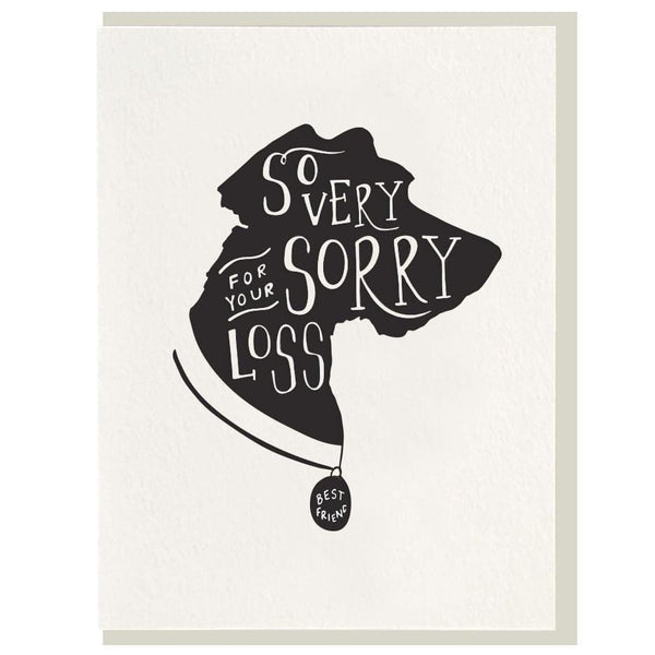 So Very Sorry Card - Dog