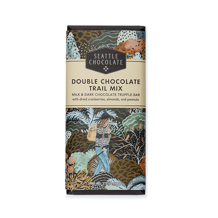 Hiker's Trail Mix Double Chocolate Truffle Bar