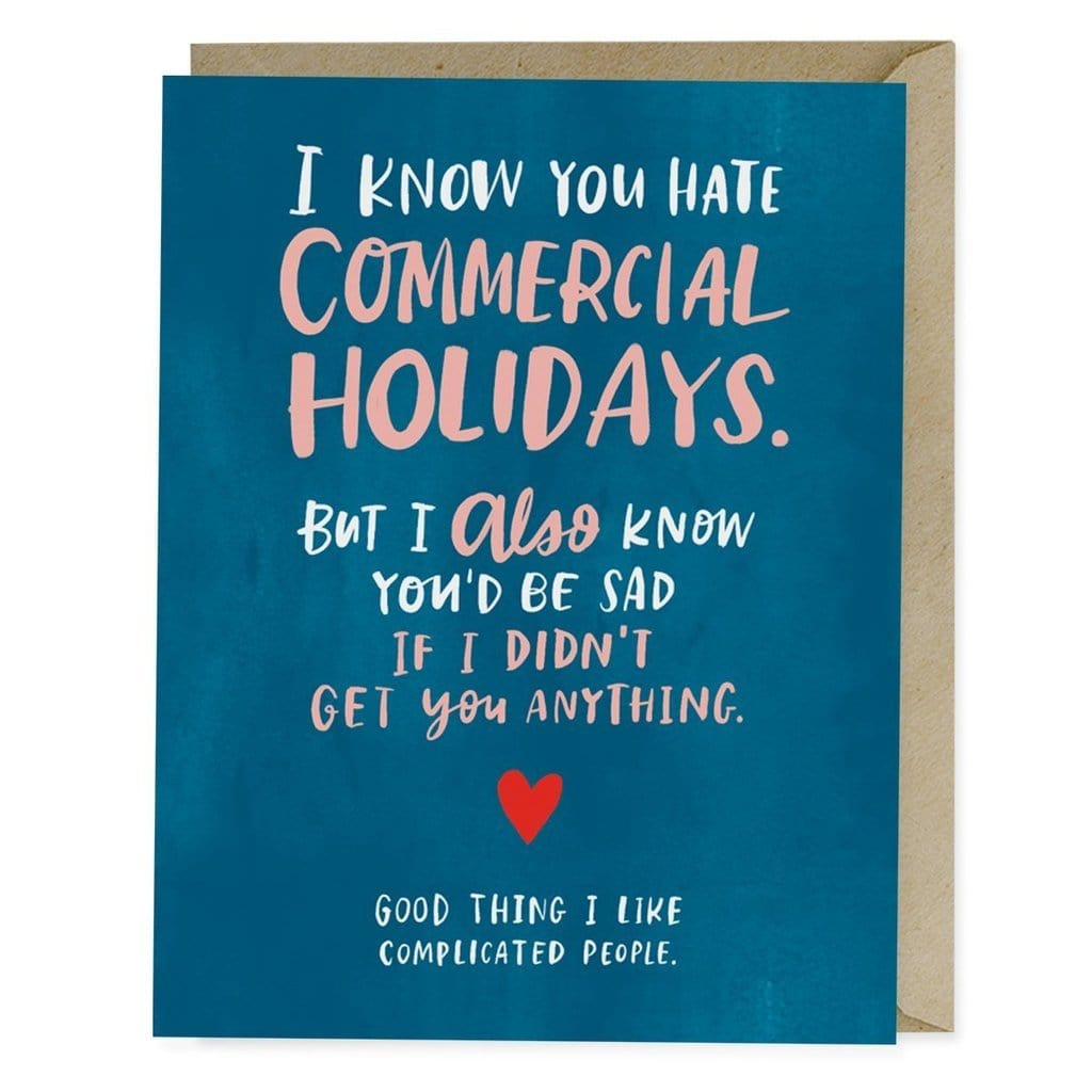 Commercial Holidays Card