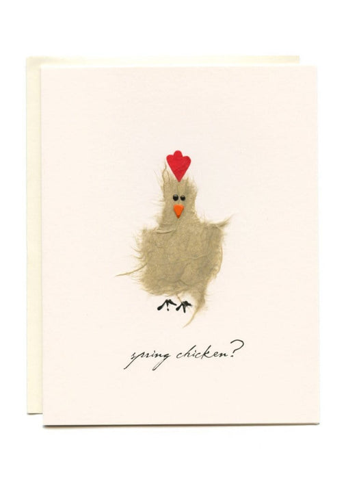 Spring Chicken Card
