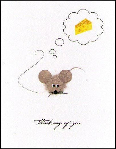 Thinking of You Mouse Card