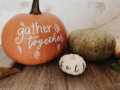 Beginning Hand Lettering Workshop + Pumpkins! 10/13/19