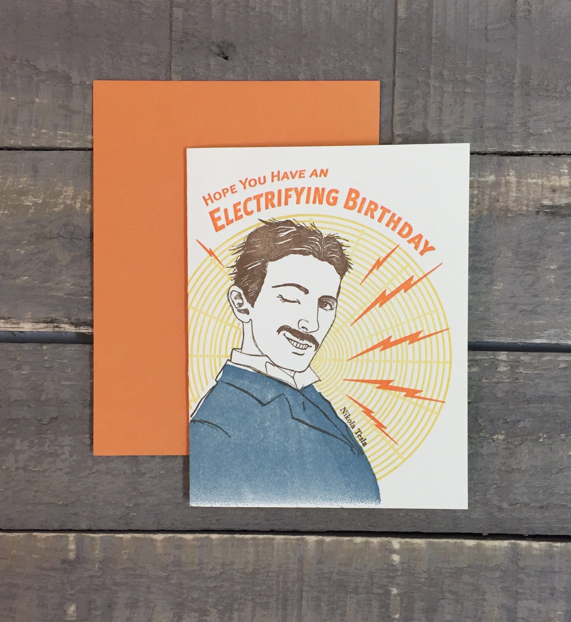 Electrifying Birthday Card