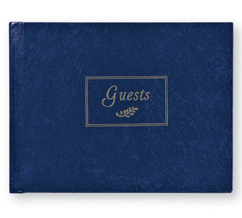 Classic Guest Book - Navy