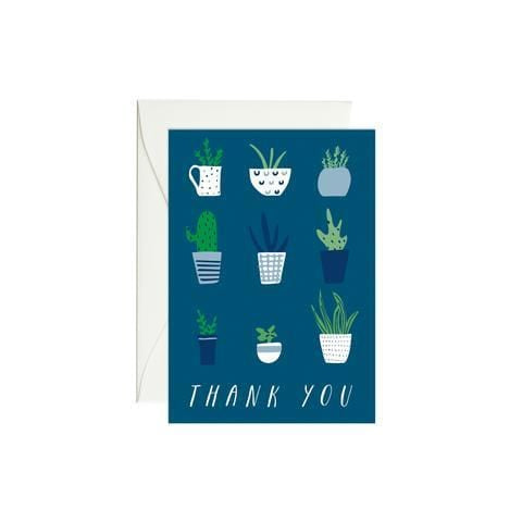 Plants Thank You Enclosure Card