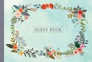Guest Book Illustrated Nature Edition