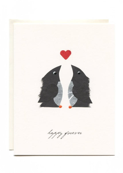 Happy Forever Penguins Card