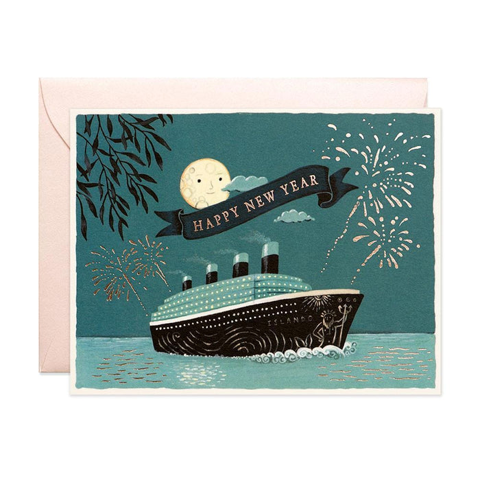 New Year Cruise Card