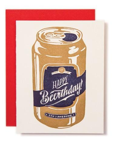 Happy Beerthday Card