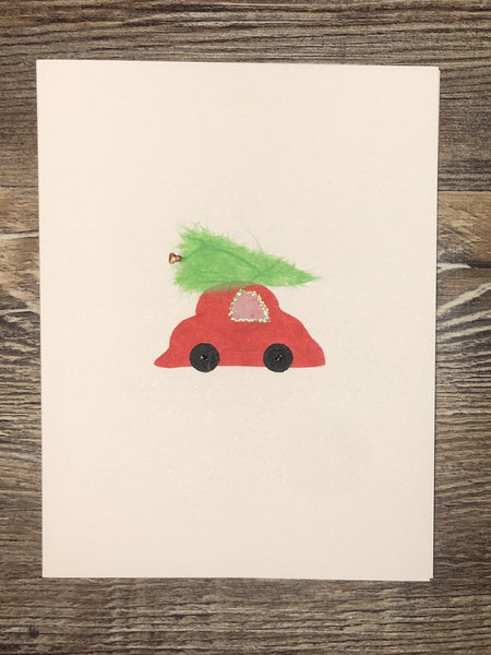 Tree on Car Card
