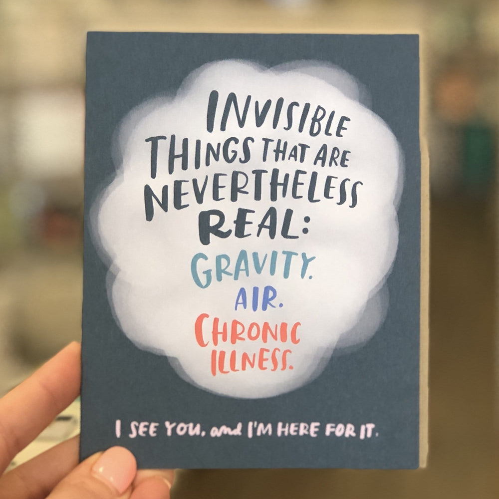 Invisible Illness Empathy Card