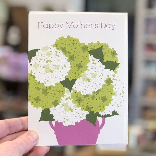 Hydrangeas Mother's Day Card