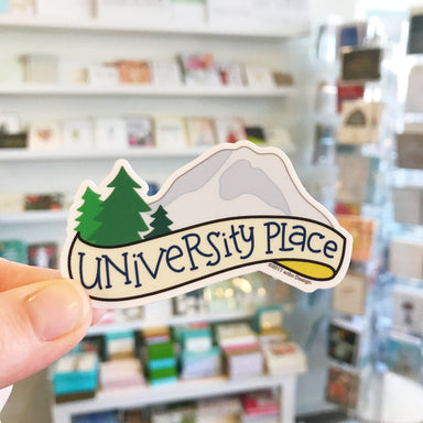 University Place Vinyl Sticker