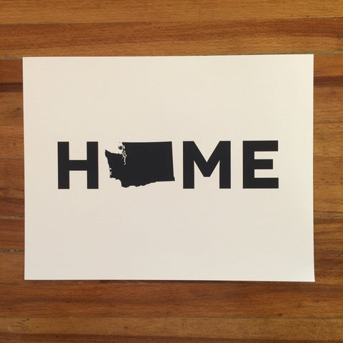 Washington State HOME Print