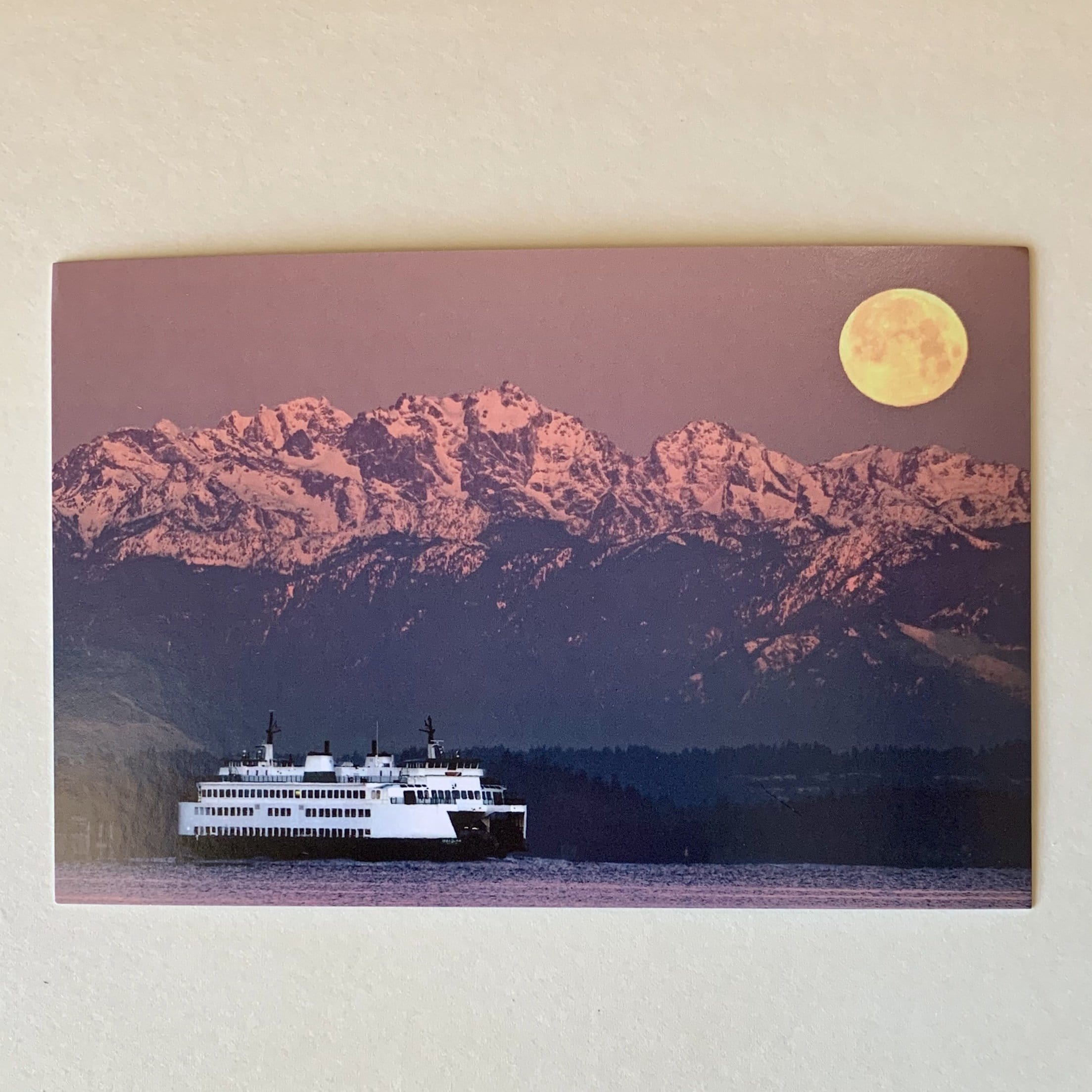 Moon Ferry Postcard