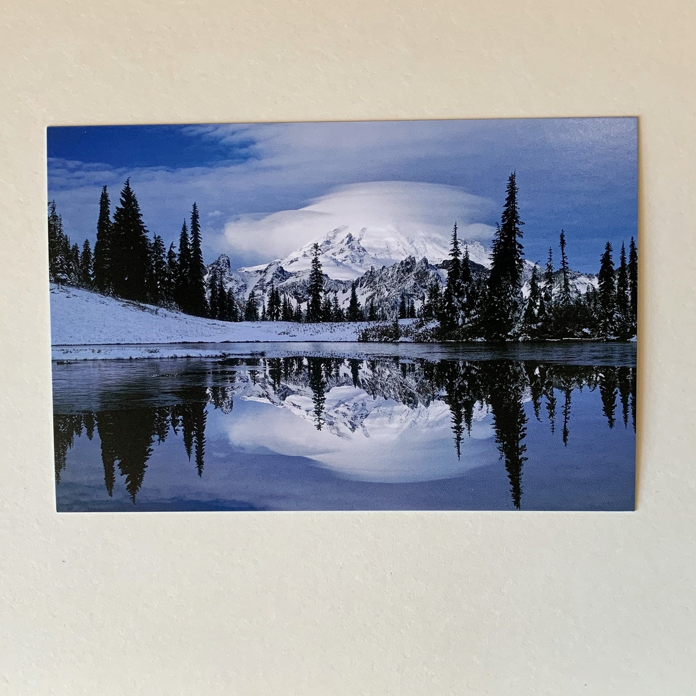 Tipsoo Lake, Mt. Rainier Postcard
