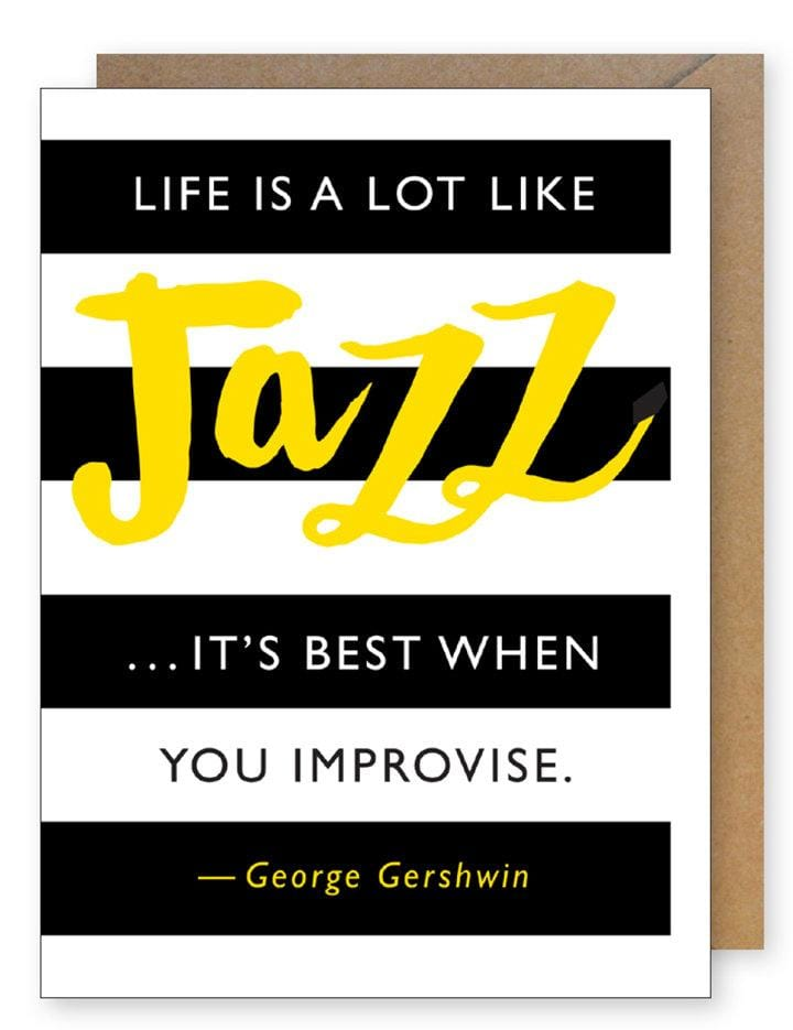 Jazz Quote Card
