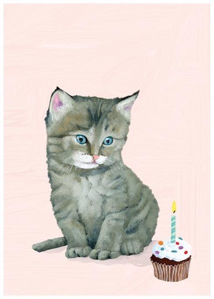 Kitten Me Single Card
