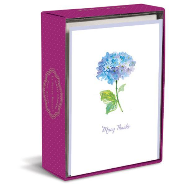 Simply Charmed Blue Hydrangea La Petite Presse Folded Notes