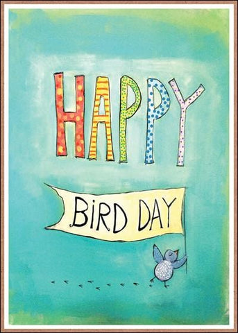 Happy Bird Day Birthday Card