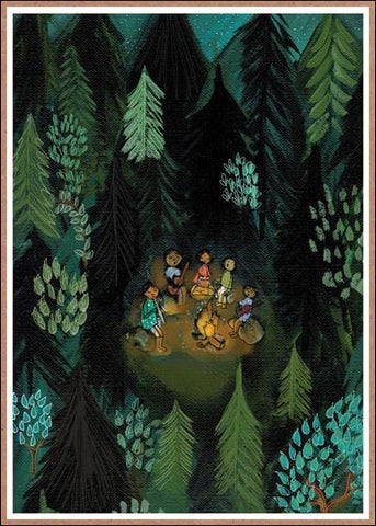 Into the Woods Birthday Card